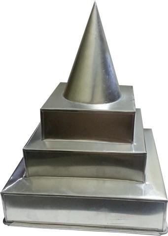 Cetakan Tumpeng Candi Kotak (24cm) 1pcs