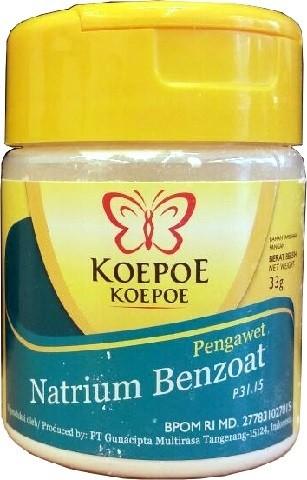 Natrium Benzoat 33gr