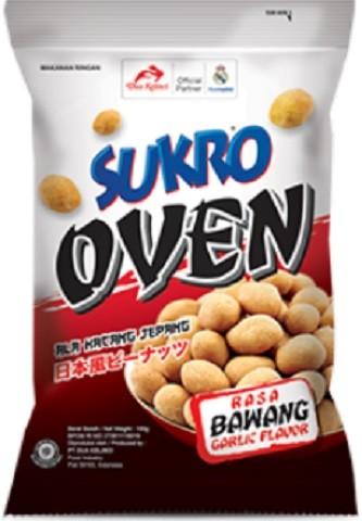 Kacang Sukro Oven rasa Bawang 100gr