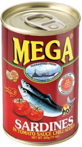 Sarden di Saus Tomat pedas 155gr