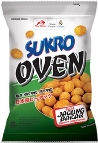 Kacang Sukro Oven rasa Jagung Bakar 100gr