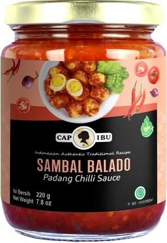 Sambal Balado mild 220gr