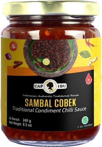 Sambal Cobek hot 230gr