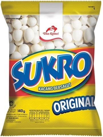 Kacang Sukro Original 120gr