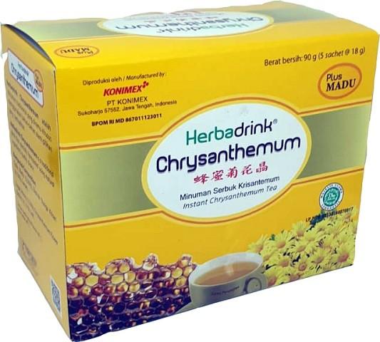 Chrysanthemum plus madu (5x18gr) 90gr