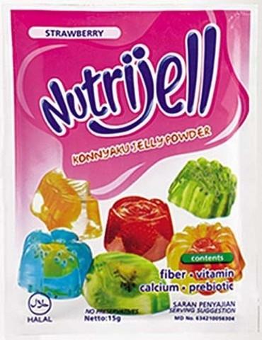NutriJell - Stroberi 15gr