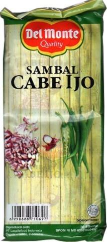 Sambal Cabe Ijo (6 sachet a 23gr) 138gr