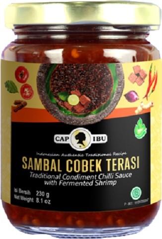 Sambal Cobek Terasi mild 240gr