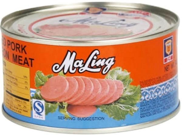 Pork meat canned 340gr