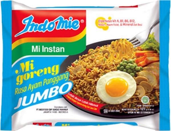 Mi Goreng Jumbo Rasa Ayam Panggang 128gr