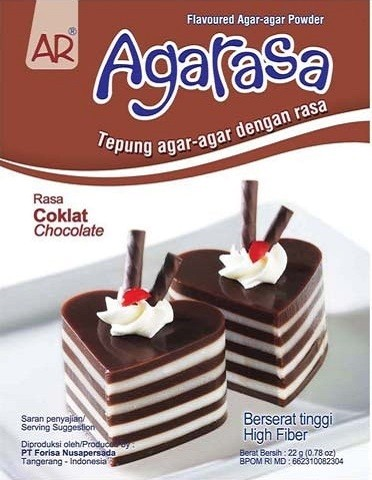 AgaRasa Coklat 22gr