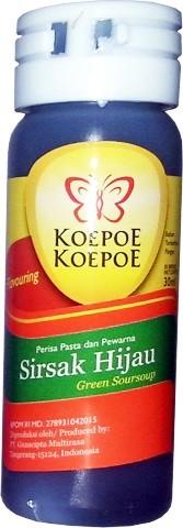 Aroma Pasta Sirsak Hijau 30ml