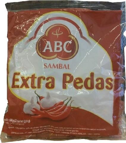 Sambal Extra Pedas 22x8gr Sachet 192ml