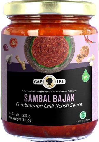 Sambal Bajak mild 230gr