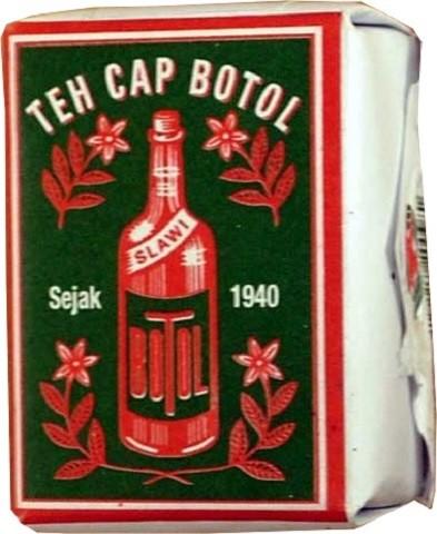 Teh Cap Botol (green) 40gr