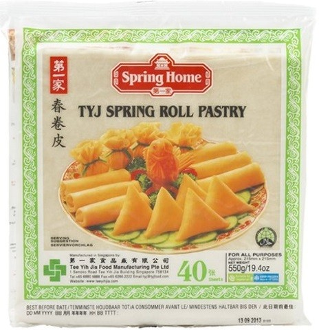 Spring Roll Pastry 550gr
