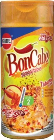 Bon Cabe sambal rasa Ebi tabur level 2 50gr