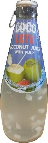 Jus kelapa dengan pulp 300ml