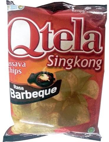 Qtela Singkong Rasa Barbeque 60gr