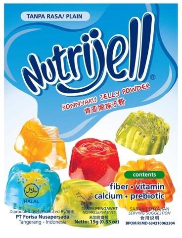 NutriJell - Tanpa Rasa 15gr