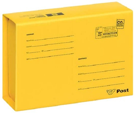 Paketbox S (Innenmaße: 262x200x95 mm) 1pcs
