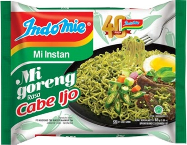 Mie Goreng Cabe Ijo 85gr