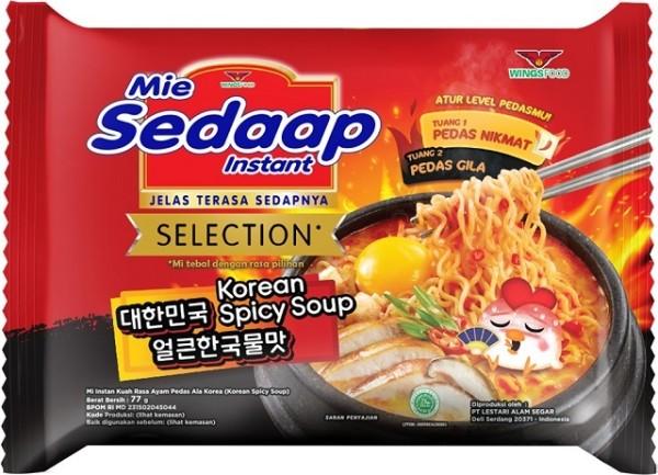 Mie kuah Korean Spicy 77gr
