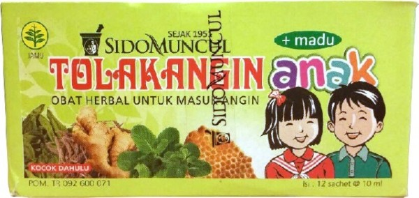 Tolak Angin anak 12x10ml 120ml