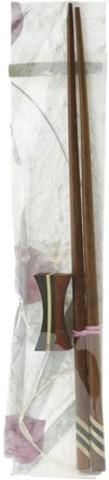 Sumpit kayu dengan penahan (dekoratif) 1set