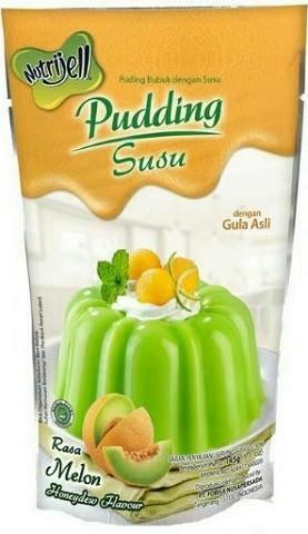 Pudding Susu rasa Melon 145gr