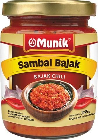 Sambal Bajak 245gr