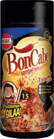 Bon Cabe sambal tabur level 15 45gr