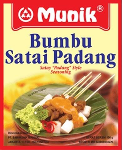 Bumbu Satai Padang 100gr