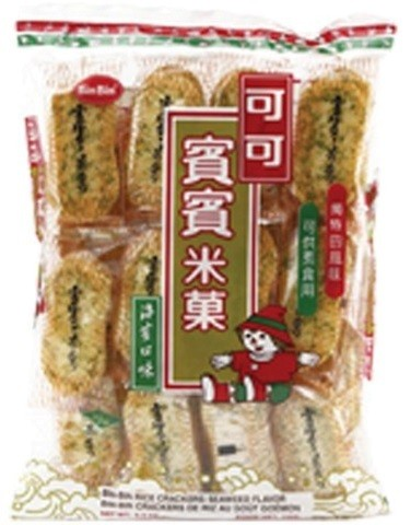 Rice Crackers Seaweed 150gr
