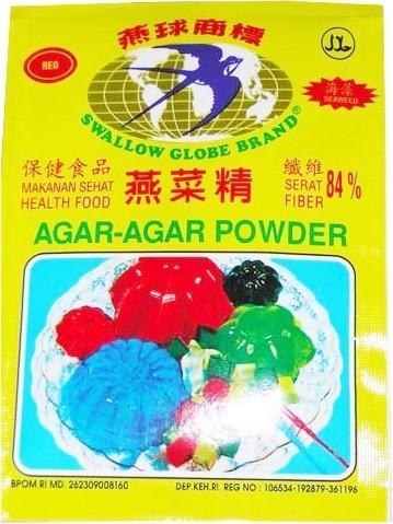 Agar-Agar Powder Hijau 7gr