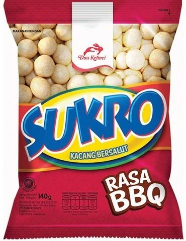 Kacang Sukro BBQ 120gr