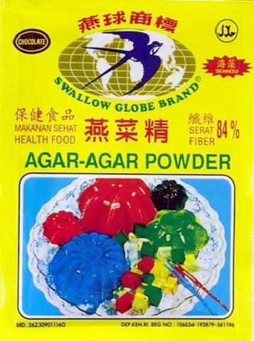 Agar-Agar Powder Coklat 7gr