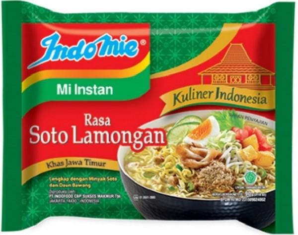 Mi Kuah Rasa Soto Lamongan khas Jawa Timur (Kuliner Indonesia) 80gr