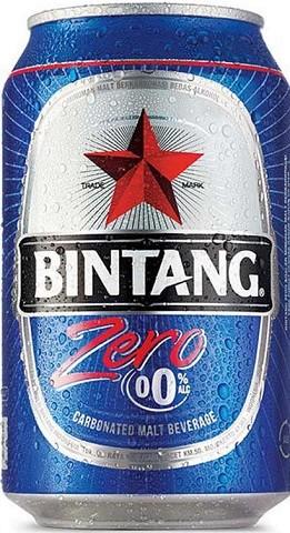 Bir Bintang Zero kaleng 330ml