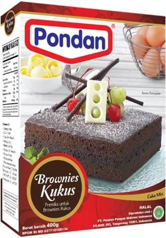 Brownies Kukus Ketan Hitam 400gr