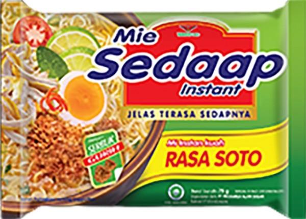 Mi Sedaap Perisa Soto 75gr