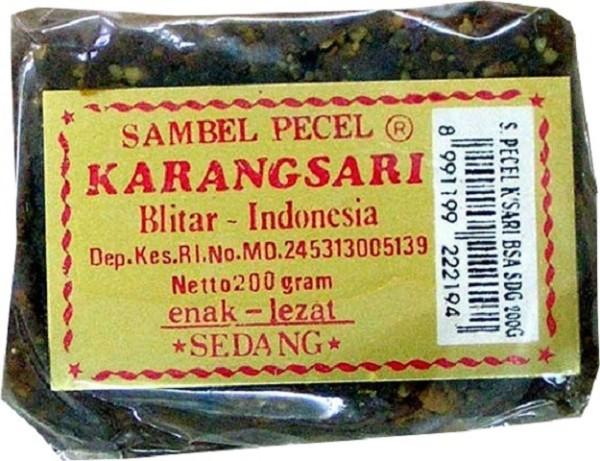 Sambal Pecel Sedang 200gr