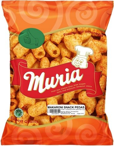 Makaroni Snack Pedas 80gr