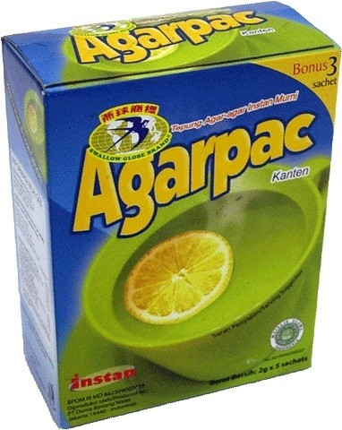 Agarpac (10x2gr) 20gr
