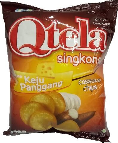 Qtela Singkong Rasa Keju Panggang 185gr