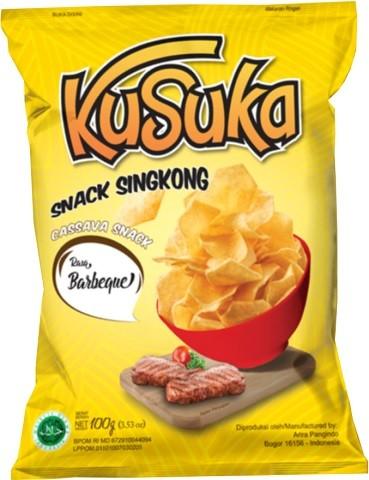 Snack Singkong rasa Barbeque 100gr