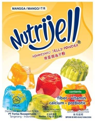 NutriJell - Mangga 15gr