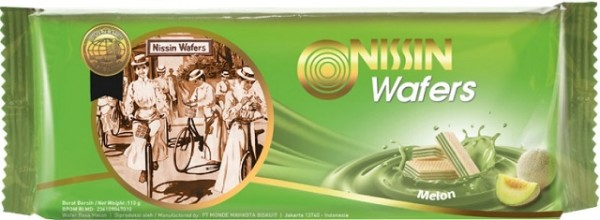 Wafers rasa melon 110gr