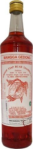 Sirop Mangga Gedong 630ml