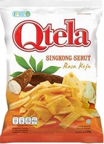 Singkong Serut rasa keju 65gr